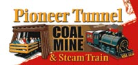Pioneer Coal Mine and Steam Train